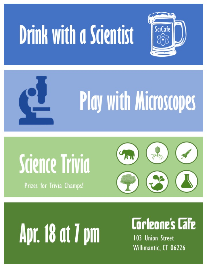 Drink With A Scientist, August2017